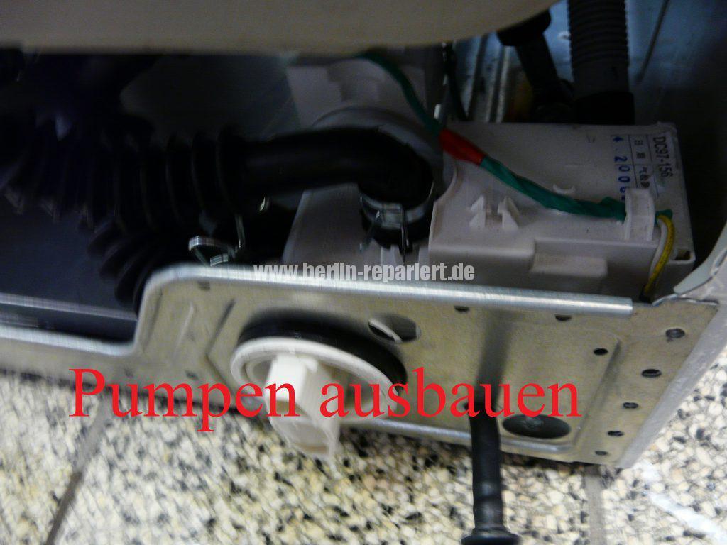 Samsung WF5784, Error TE (14)
