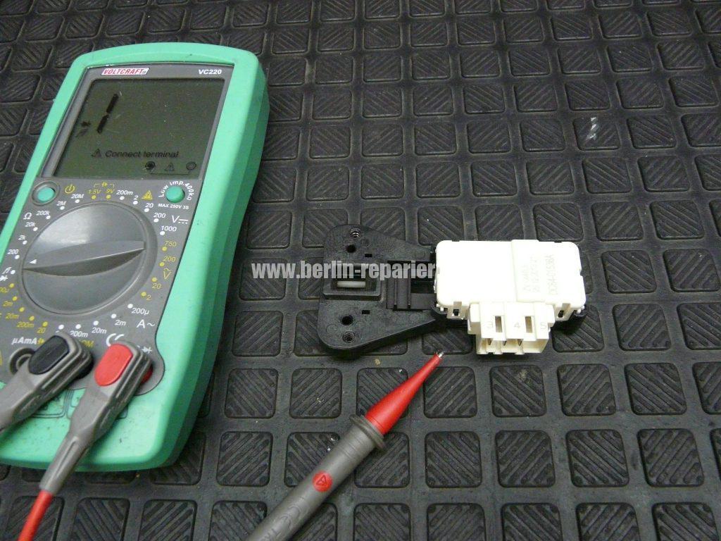 Samsung WF5784, Error TE (4)