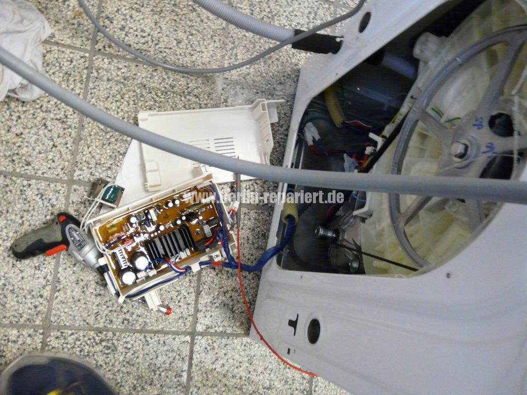 Samsung WF5784, Error TE (9)