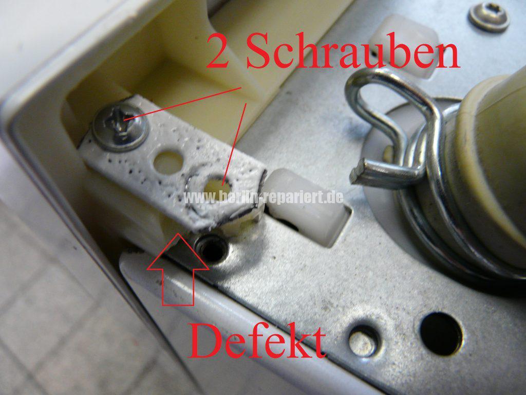 Siemens iQ500, WD14H440, klappert und verliert Wasser (2)