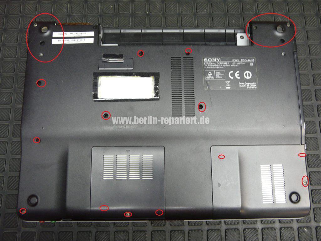 Sony Vaio VGN-FS285H, keine Funktion (2)