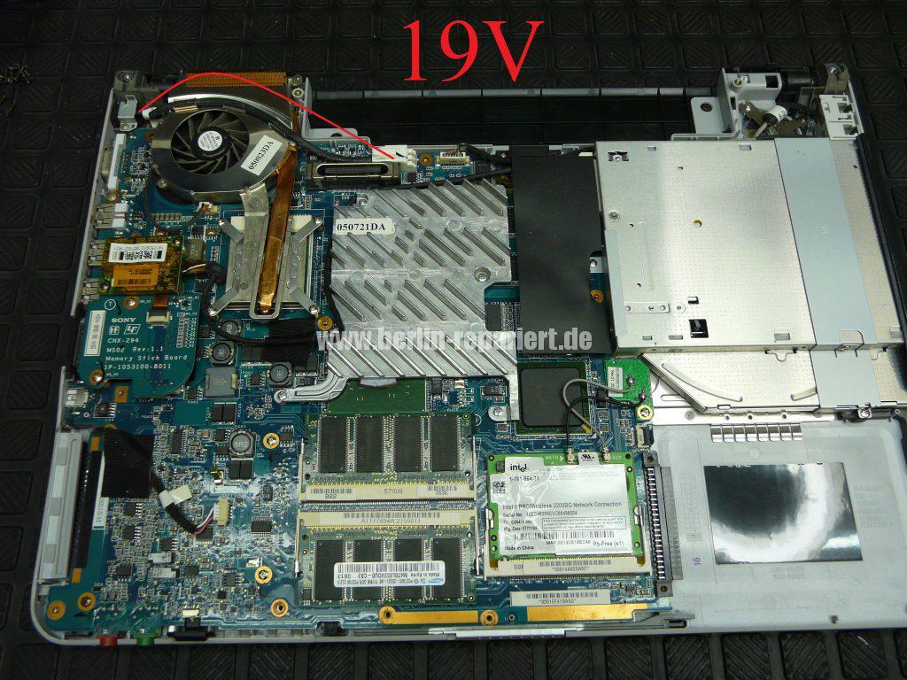 Sony Vaio VGN-FS285H, keine Funktion (3)