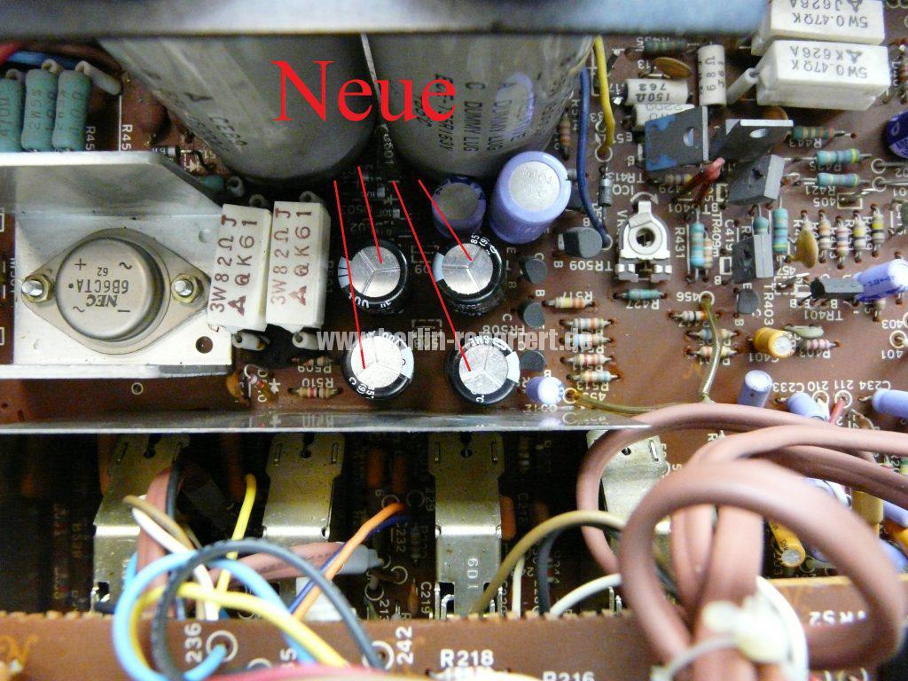 Technics SU-8600, kein Ton (14)