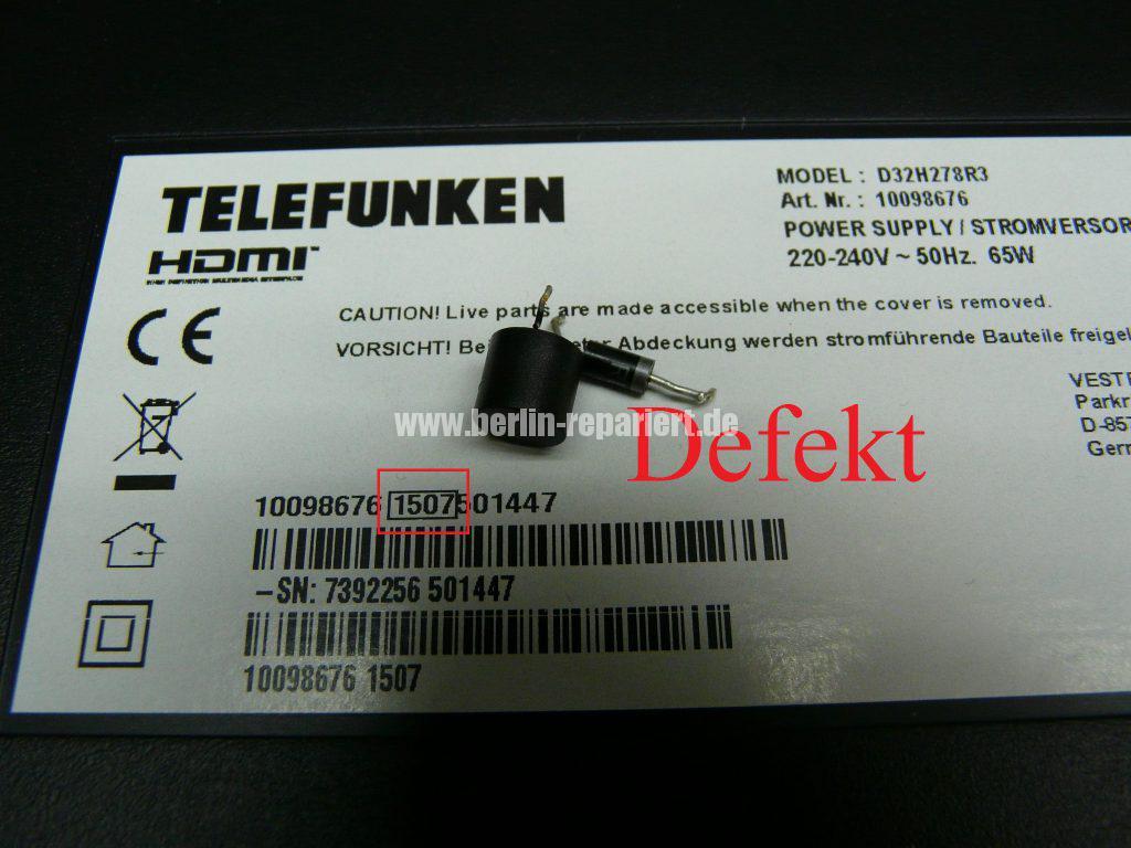 Telefunken D32H278R3, keine Funktion (10)