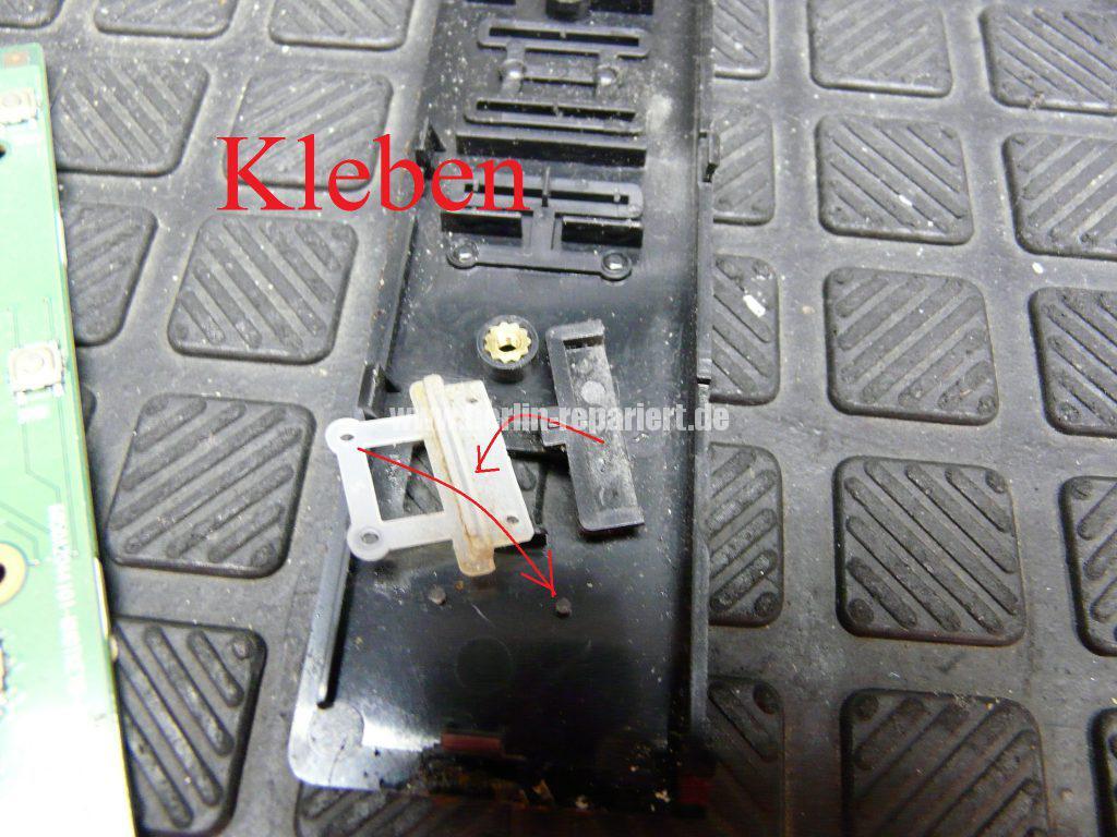 Toshiba A100, Power Knopf reingerutscht (8)