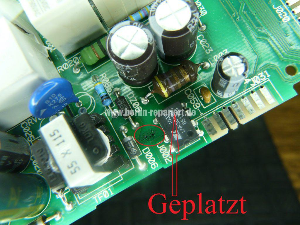 Whirlpool Elektronik keine Funktion (2)