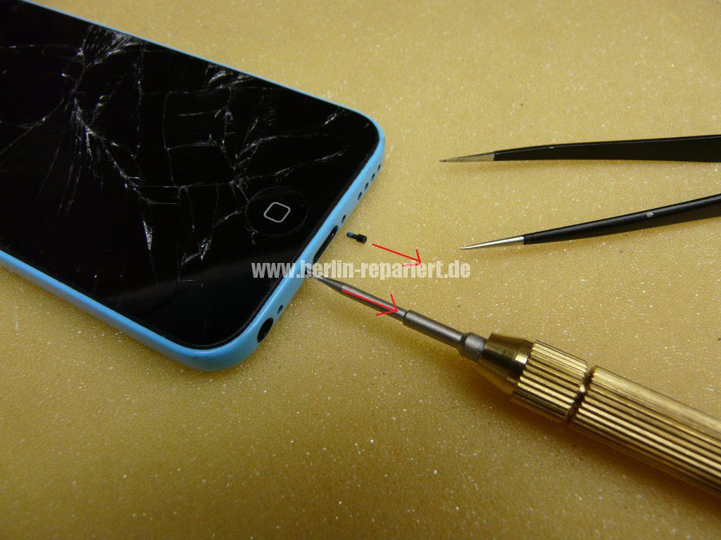 iPhone 5C, Display Defekt (2)