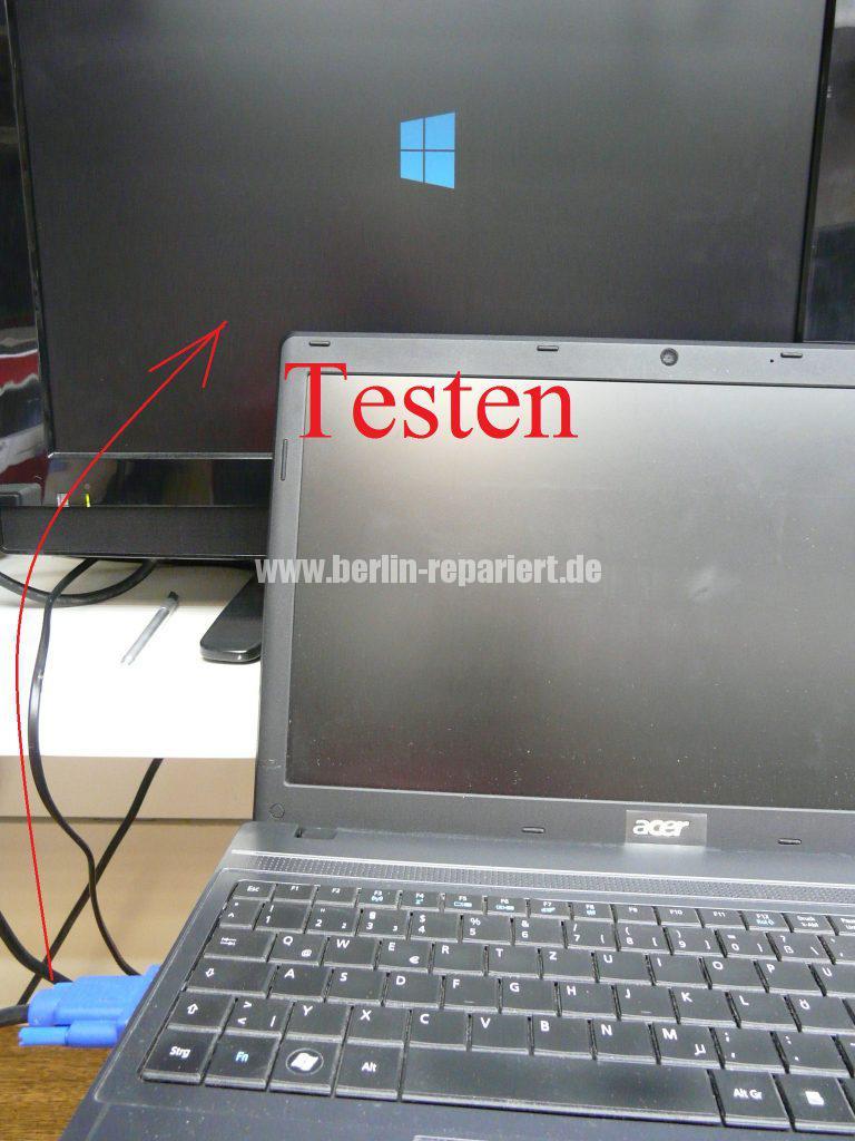Acer TravelMate 5740, kein Bild über den VGA Anschluss (11)