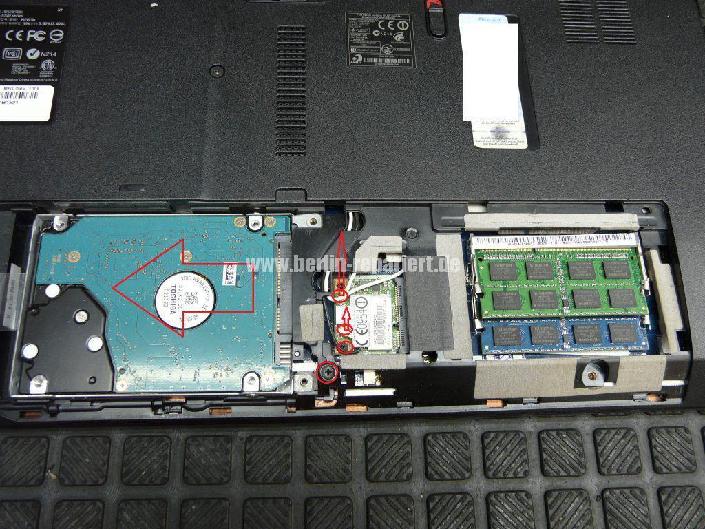 Acer TravelMate 5740, kein Bild über den VGA Anschluss (3)
