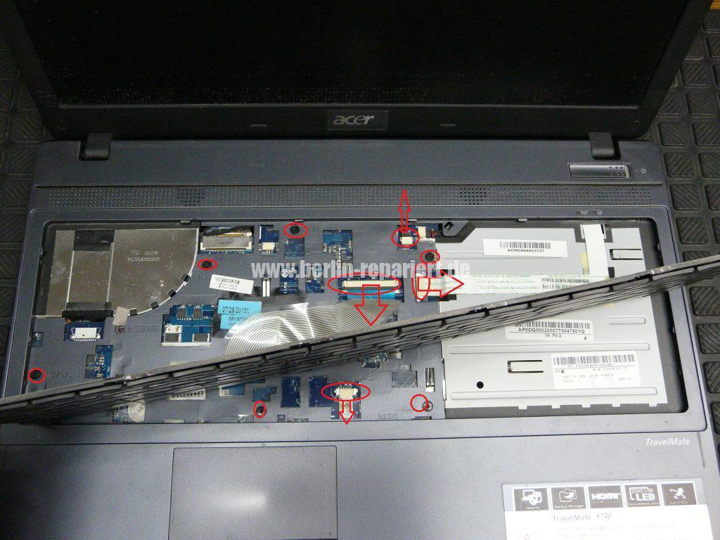 Acer TravelMate 5740, kein Bild über den VGA Anschluss (5)