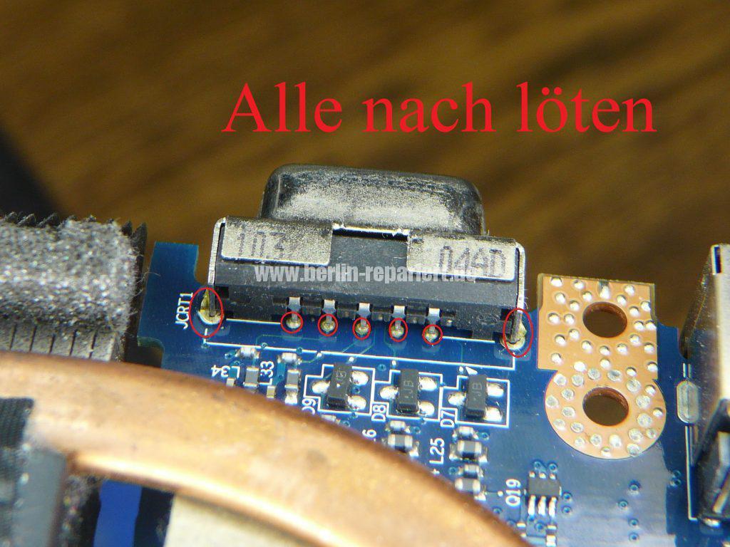 Acer TravelMate 5740, kein Bild über den VGA Anschluss (7)