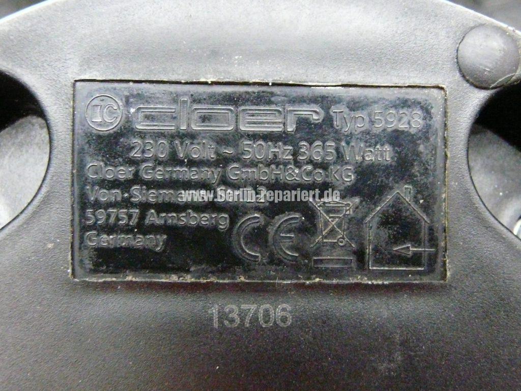 Aufschäumer Cloer Typ 5928, keine Funktion (12)