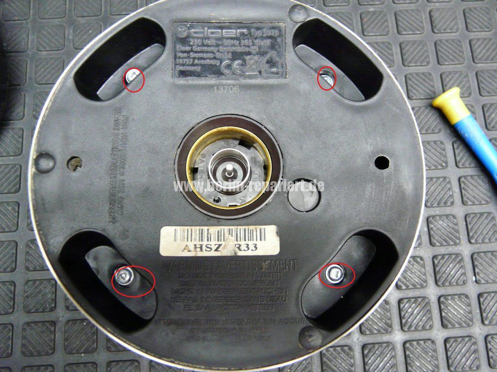 Aufschäumer Cloer Typ 5928, keine Funktion (3)