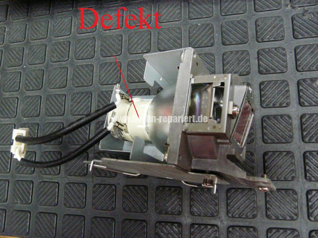 Benq W750, Lampe defekt, Lampe austauschen (5)