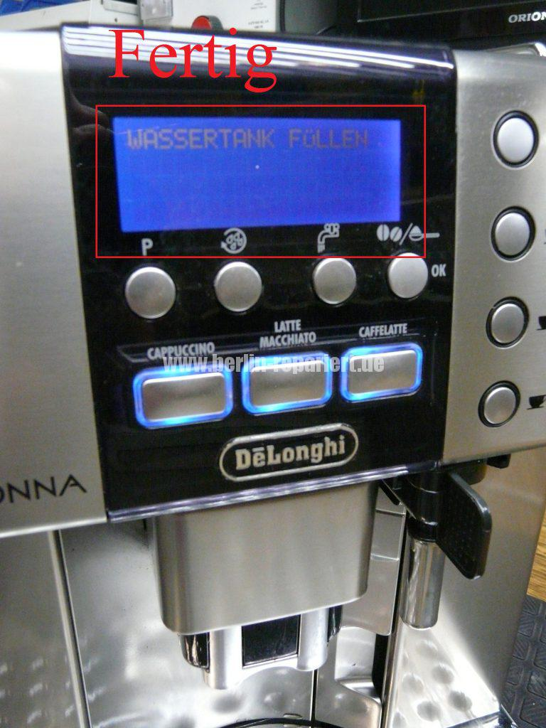 DeLonghi Primadonna ESAM6600, Display dunkel (13)