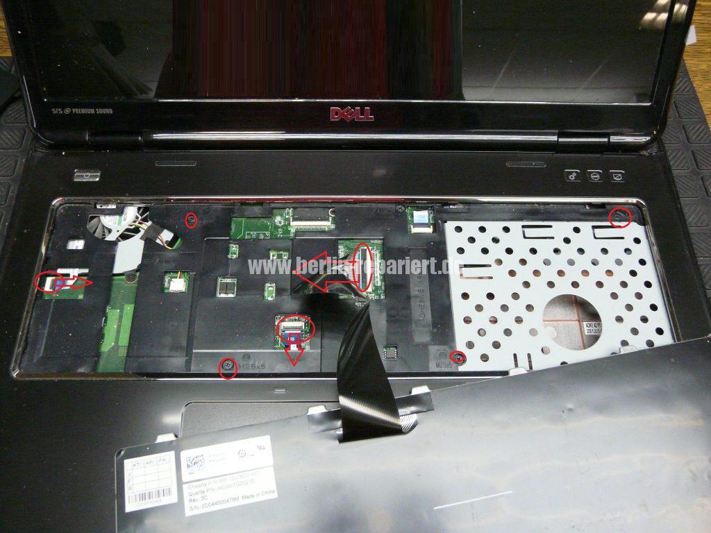 Dell Inspiron N7110, Netzbuchse Defekt, Netzbuchse austauschen (6)