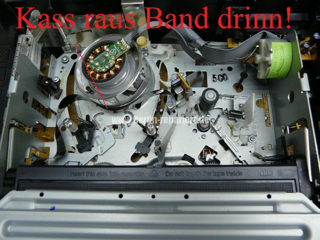 Funai D8A-M1000, macht Bandsalat (2)