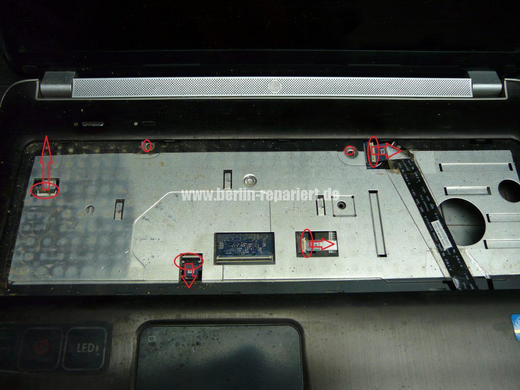 HP dv7-6032, Lüfter defekt, Lüfter austauschen (3)