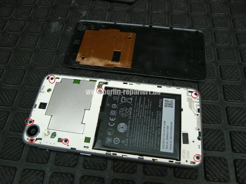 HTC Desire 626G Dual SIM, Display defekt (3)