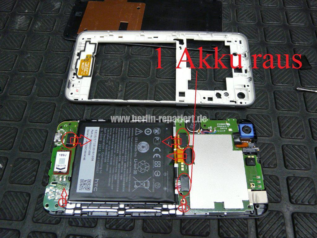 HTC Desire 626G Dual SIM, Display defekt (5)