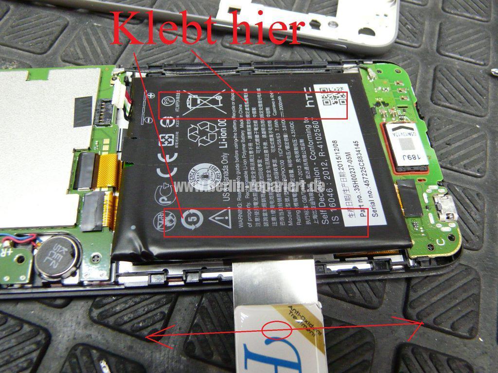HTC Desire 626G Dual SIM, Display defekt (7)