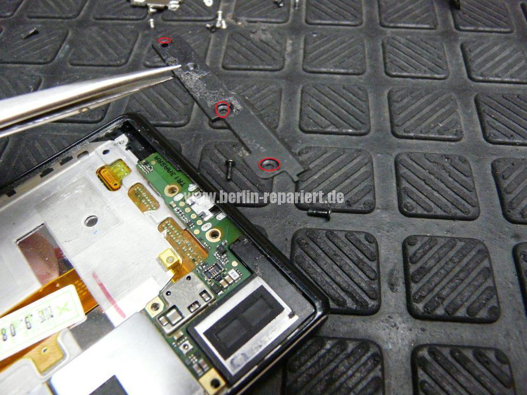 Huawei Ascendent P7, Display tauschen, zerlegen (11)