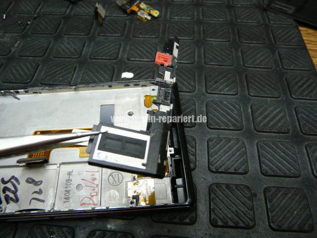Huawei Ascendent P7, Display tauschen, zerlegen (13)