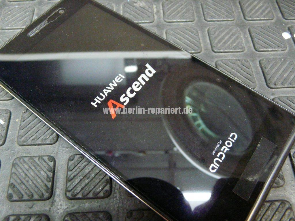 Huawei Ascendent P7, Display tauschen, zerlegen (16)