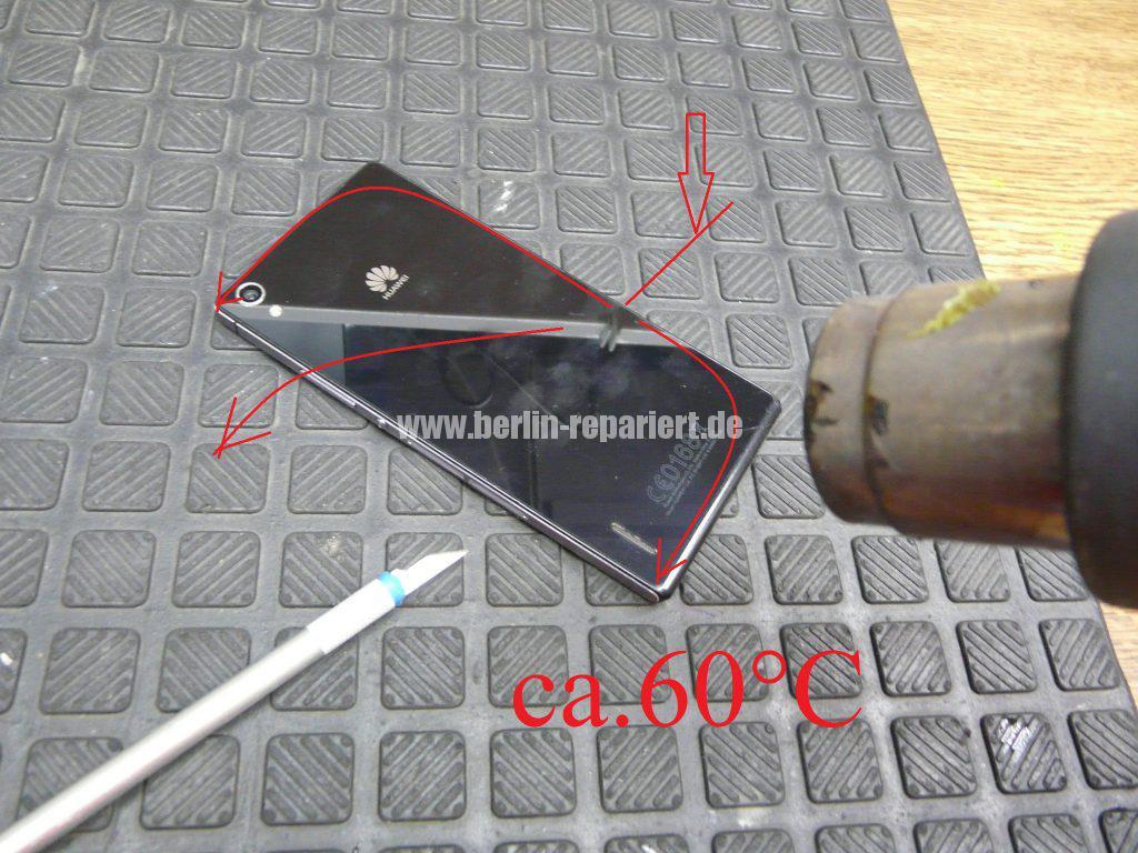Huawei Ascendent P7, Display tauschen, zerlegen (2)