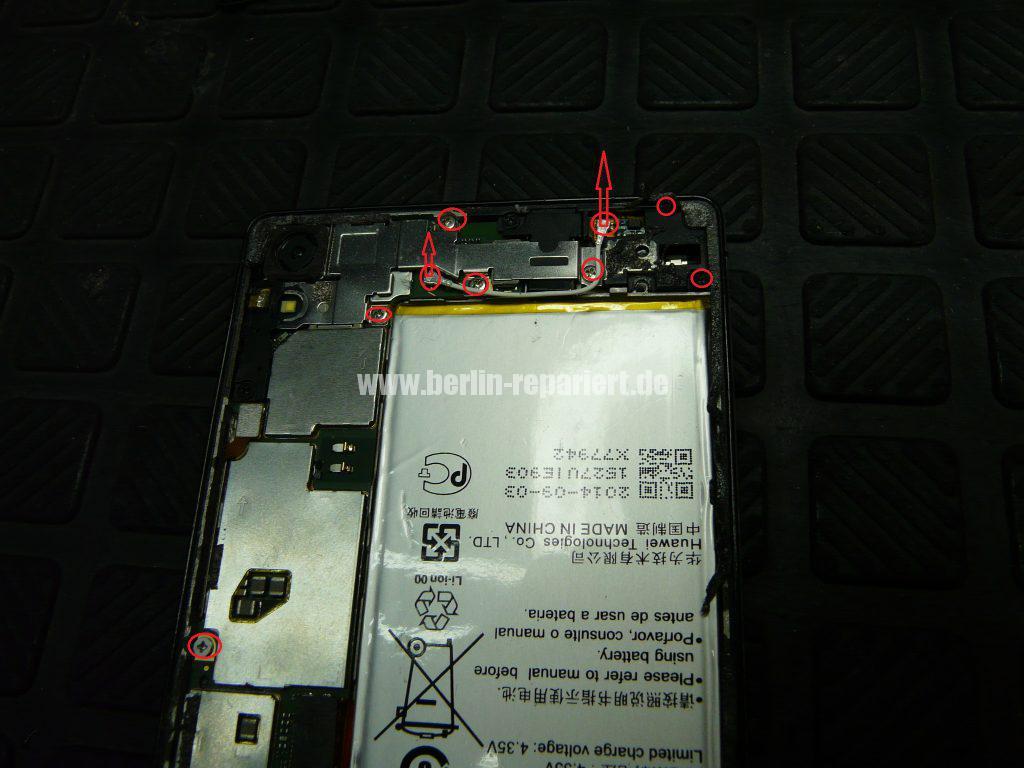 Huawei Ascendent P7, Display tauschen, zerlegen (4)