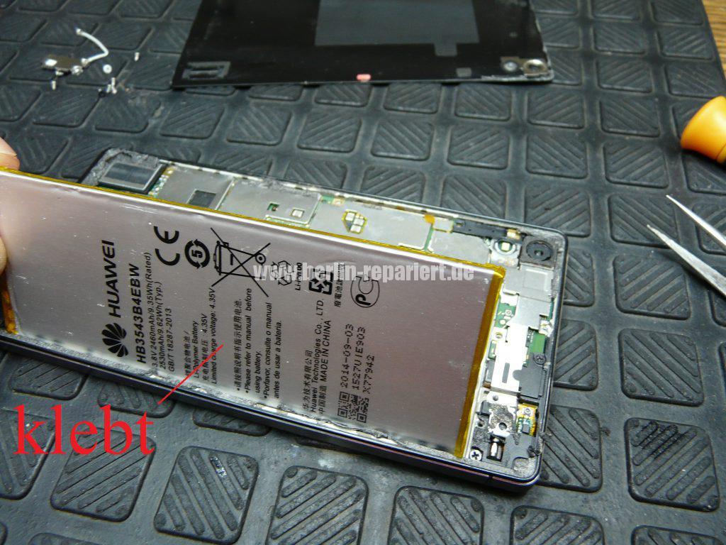 Huawei Ascendent P7, Display tauschen, zerlegen (5)