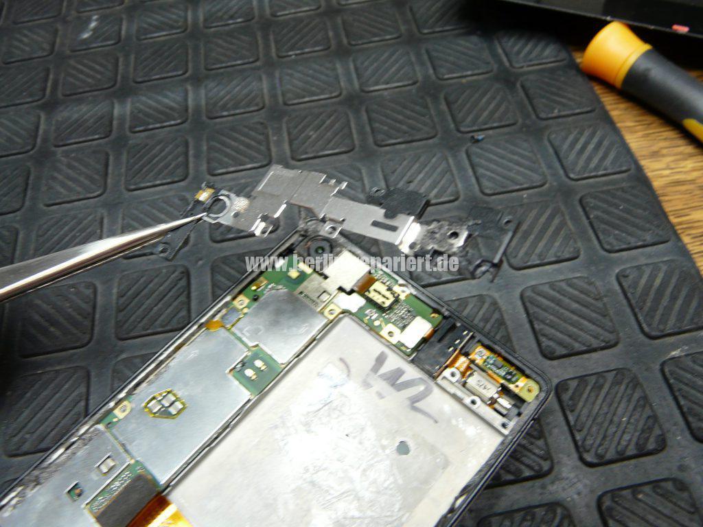 Huawei Ascendent P7, Display tauschen, zerlegen (6)