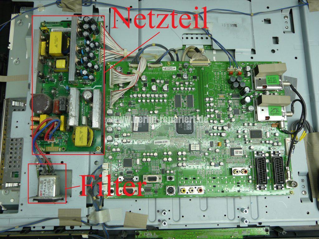 LG 32LB1R, keine Funktion, FI Schalter fliegt raus (3)