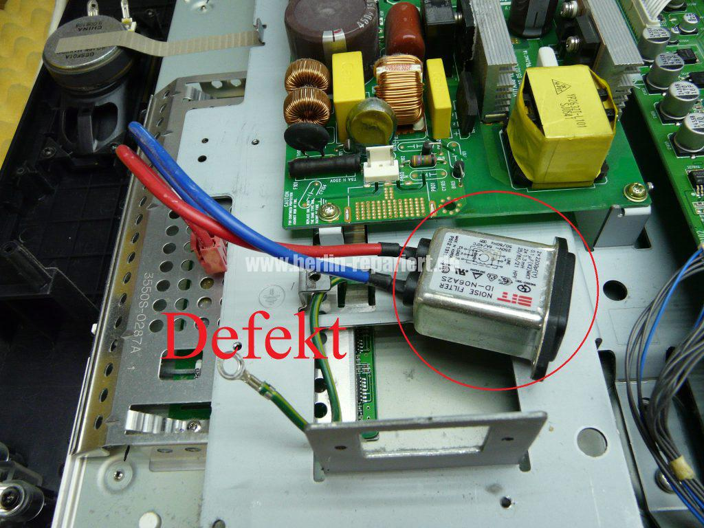 LG 32LB1R, keine Funktion, FI Schalter fliegt raus (4)