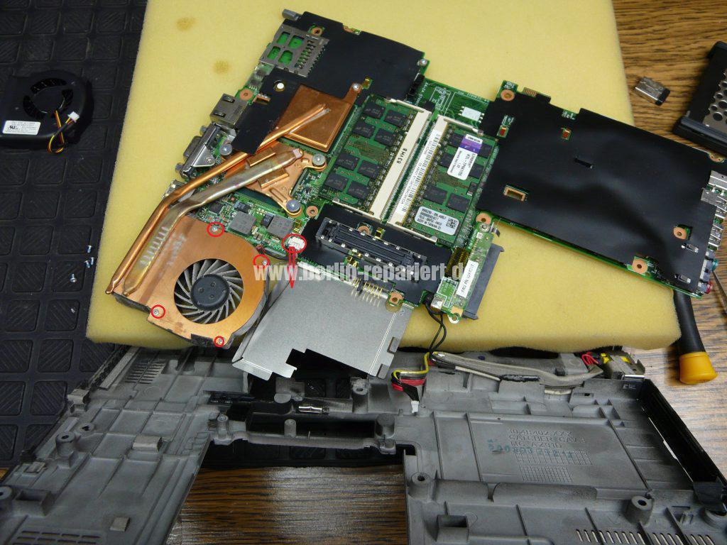 Lenovo X61, Lüfter austauschen (6)