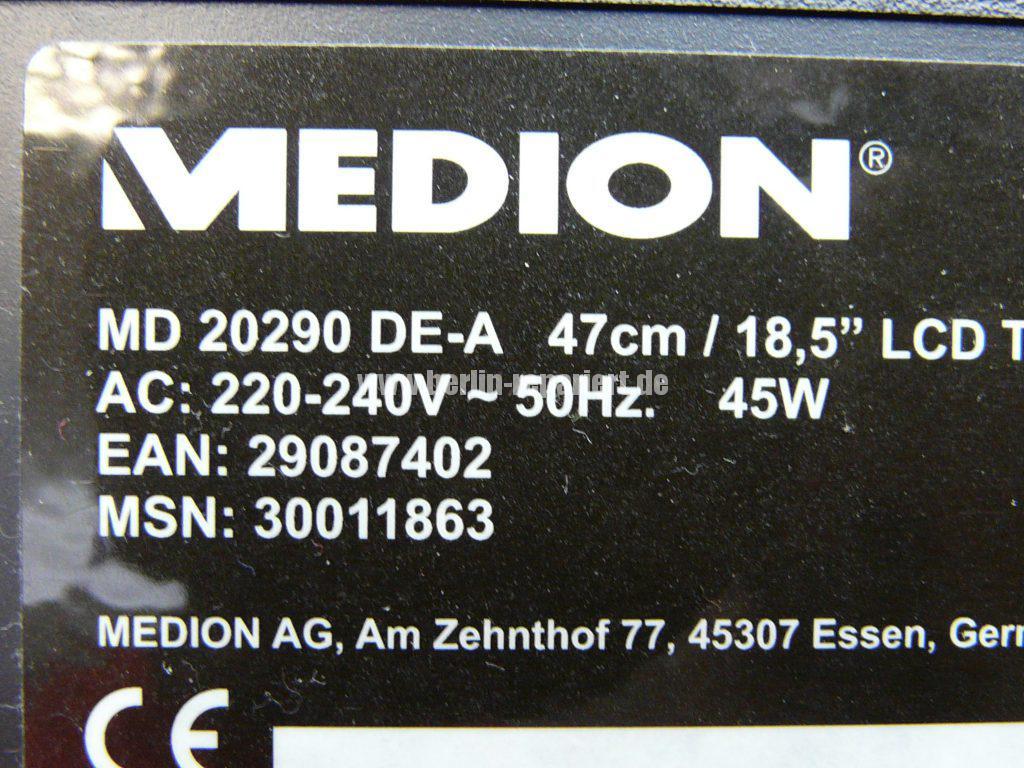 Medion MD 20290, kein Signal (6)