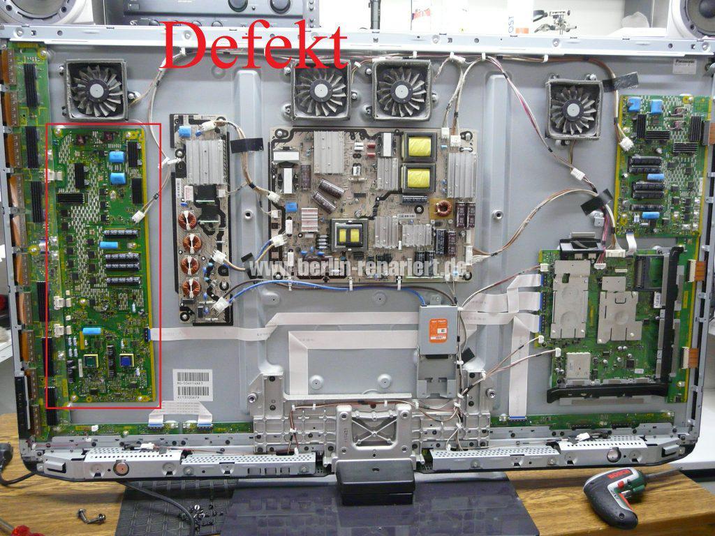 Panasonic TX-P50GT3E, keine Funktion, Stby LED blinkt (2)