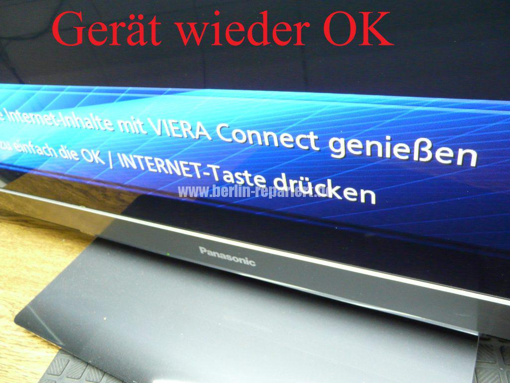 Panasonic TX-P50GT3E, keine Funktion, Stby LED blinkt (6)