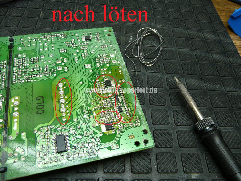 Philips 40PFL6606K, geht nicht An, geht Aus, Blinkt (10)