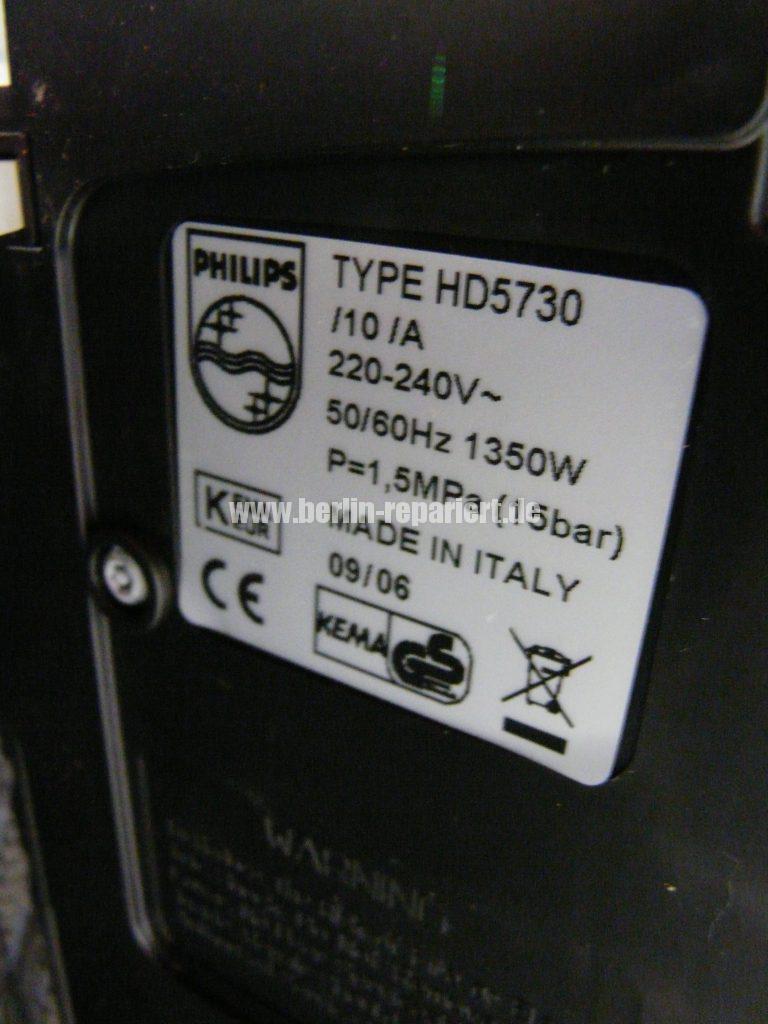 Philips HD5730, Algemeine Störung (8)