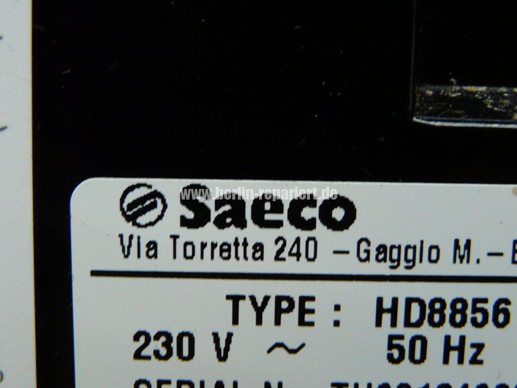 Saeco HD8856, verliert Wasser (6)