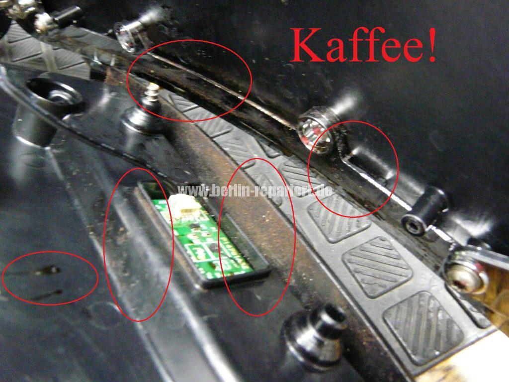 Saeco Xelsis HD8943, Fehler Schale lehren (3)