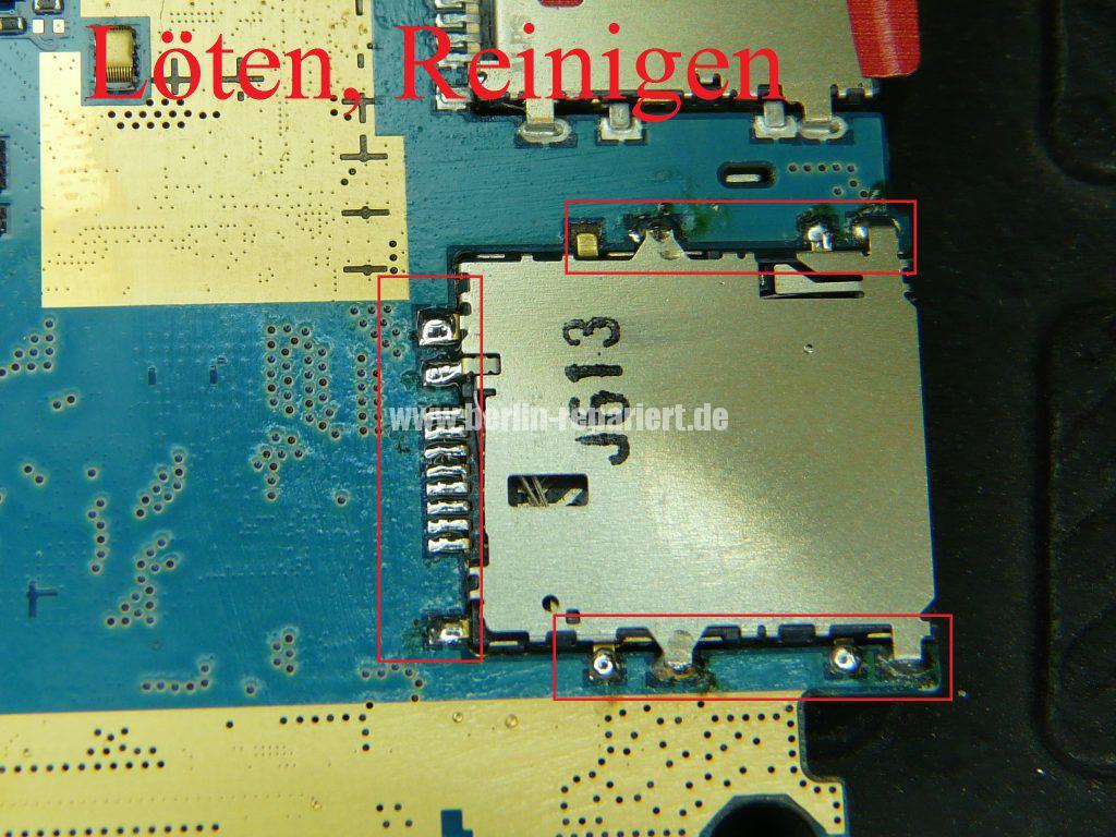Samsung Galaxy Tab 3 SM-T111, SIM Kartenleser defekt (10)
