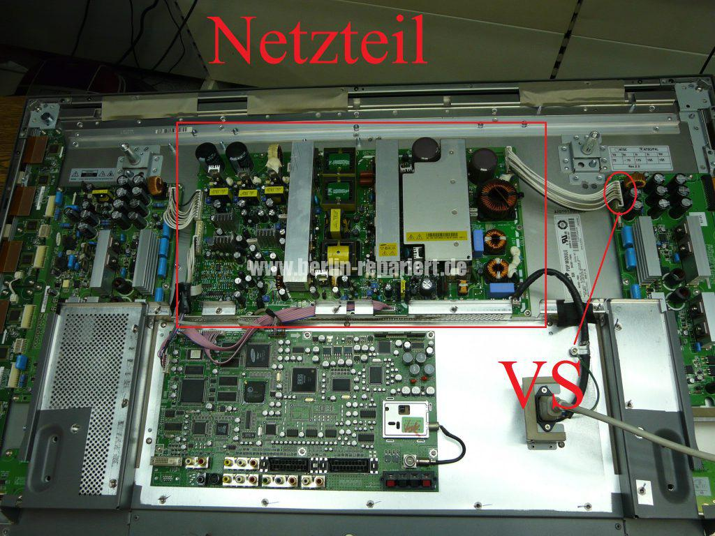 Samsung PS42V4S, kein Bild (3)