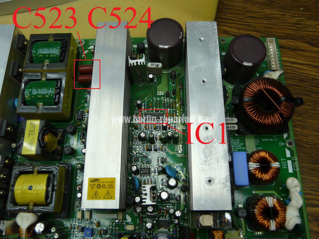 Samsung PS42V4S, kein Bild (6)