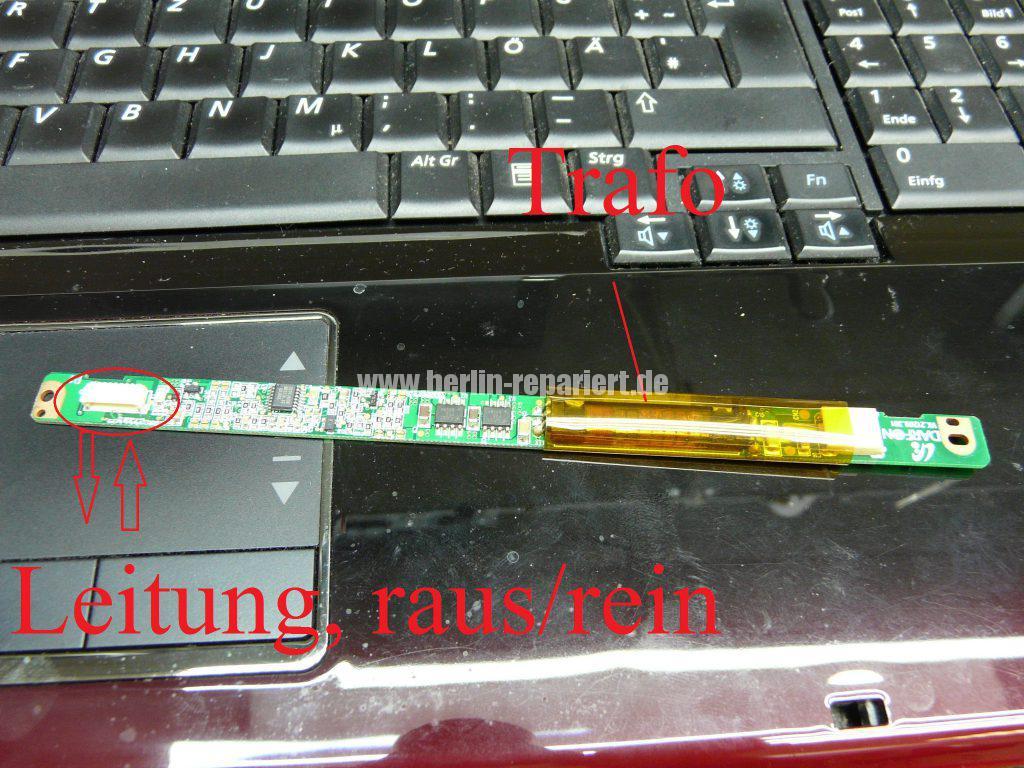 Samsung R710, Bildschirm Flackert (3)