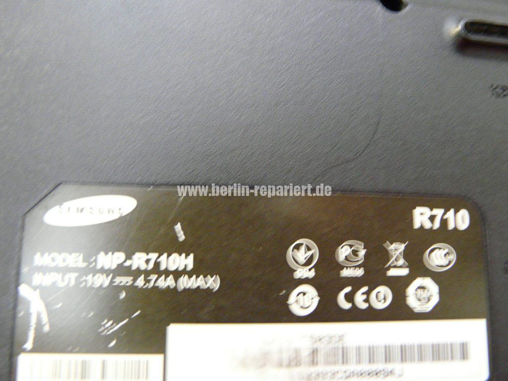 Samsung R710, Bildschirm Flackert (6)