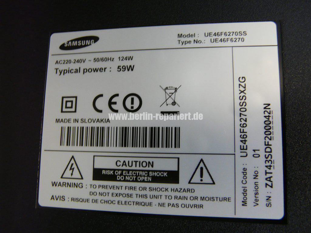 Samsung UE46F6270, keine Funktion (7)