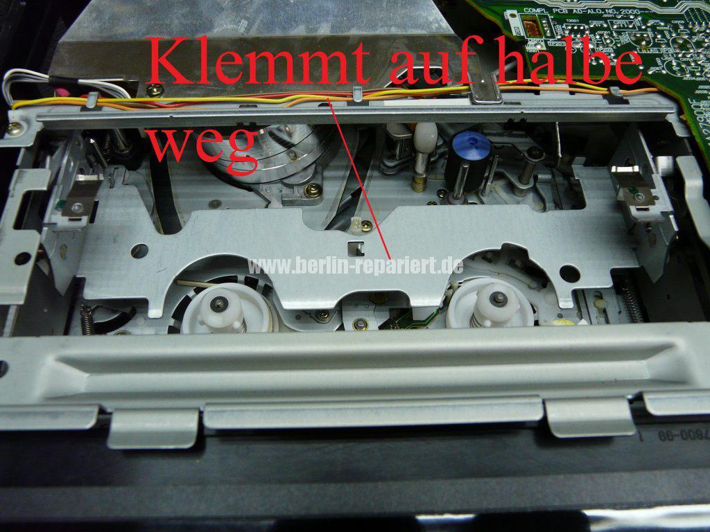 Siemens FM701, Laufwerk blockiert (2)
