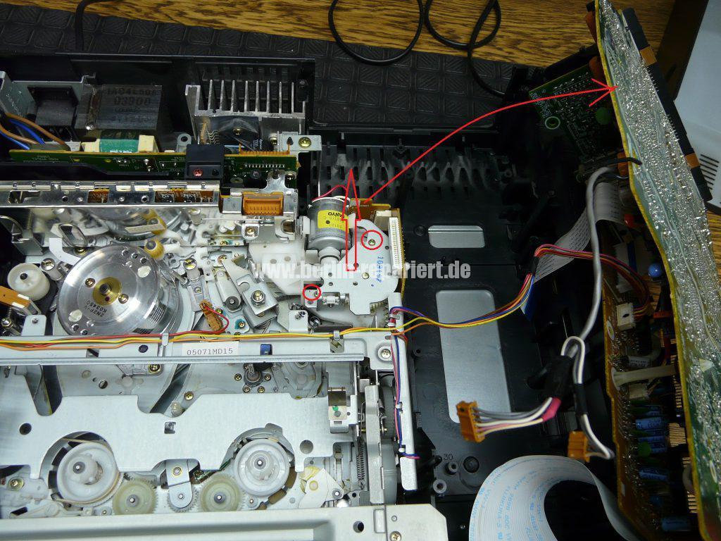 Siemens FM701, Laufwerk blockiert (3)